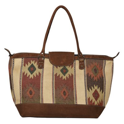 ETHNO SHOPPER LARGE | BEIGE DIAMONDS