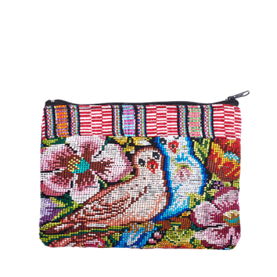 Cosmetic Bag Huipil | Bag in Bag | Birds | marysal-shop.com