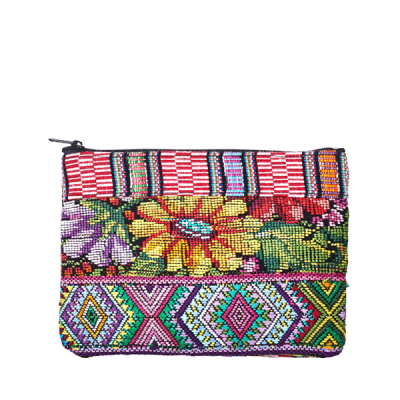 Cosmetic Bag Huipil | Bag in Bag Flower | marysal-shop.com