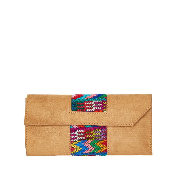 Ethno Wallet | Ikat Design| MARYSAL