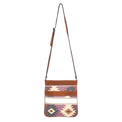 Ethno Crossbody Bag | Ethno Bag | White Diamonds | MARYSAL Online Shop