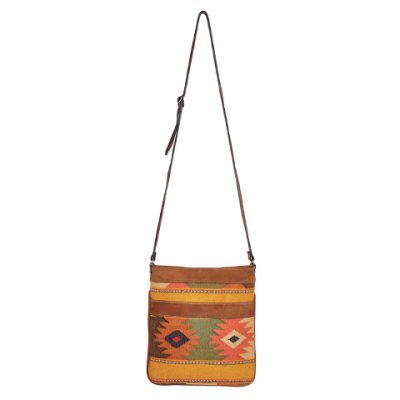 Ethno Crossbody Bag | Ethno Bag | Camel Diamonds | MARYSAL Online Shop