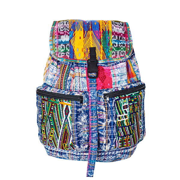 Ethno Style Backpack | Ikat Patchwork | MARYSAL