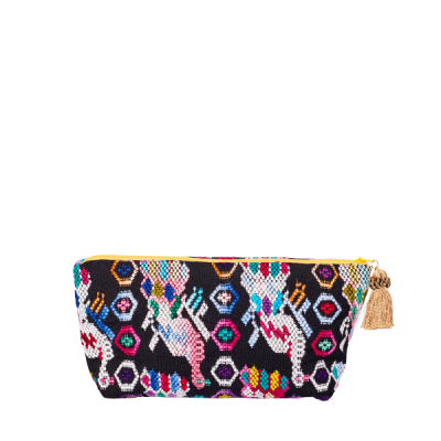 Pom Pom Cosmetic Bag | Bag in Bag | Maya | marysal-shop.com