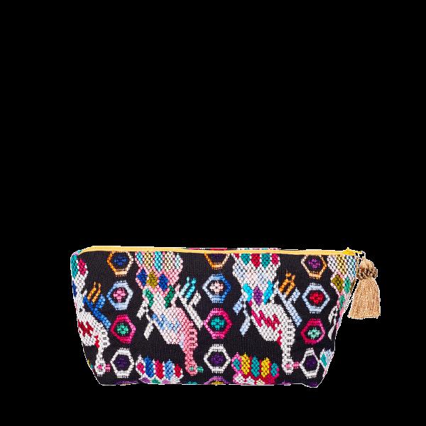 Pom Pom Cosmetic Bag | Bag in Bag | Maya | marysal-shop.com