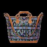 Shopper | Boho Shopper | Boho Bag | Huipil | black bird |