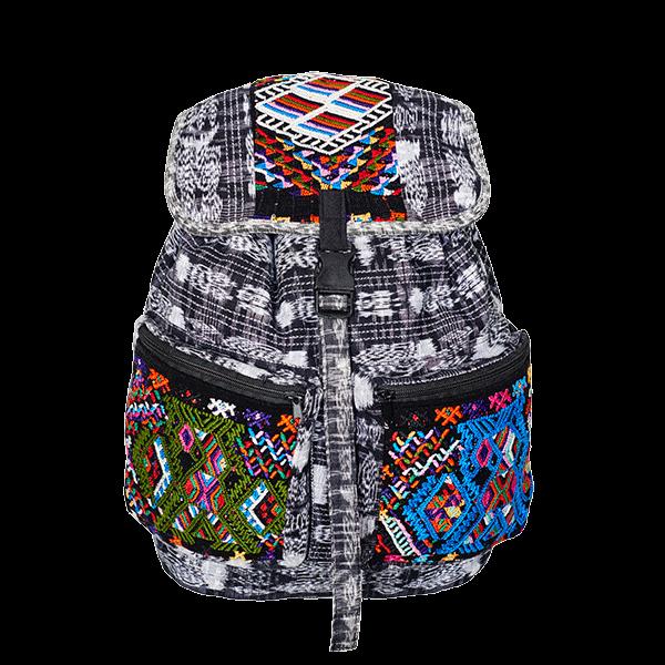 Ethno Style Backpack | Ikat Patchwork | MARYSAL