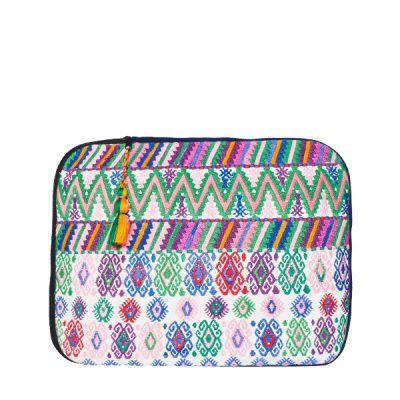 Boho Laptop Case | White Rose | MARYSAL