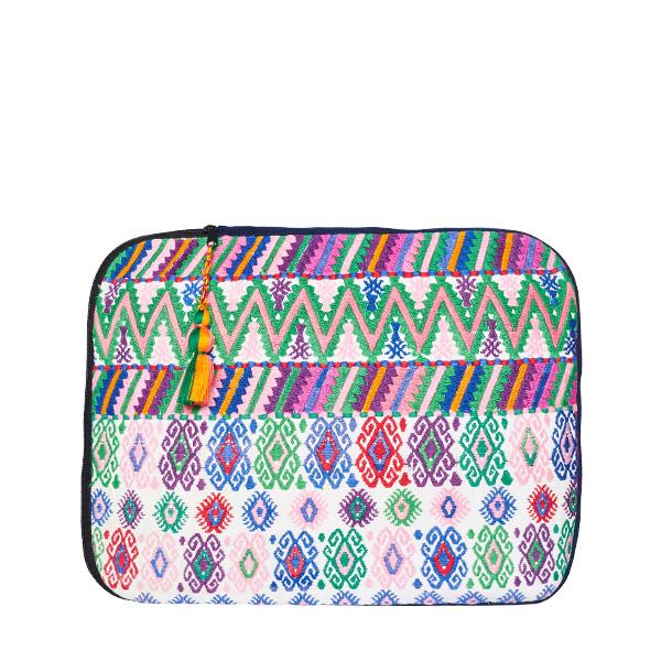 Boho Laptop Case | White Rose | MARYSAL