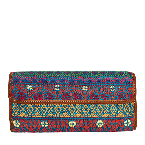 Clutch Clutchbag Bag Purse Handtasche grün green blau blue red rot