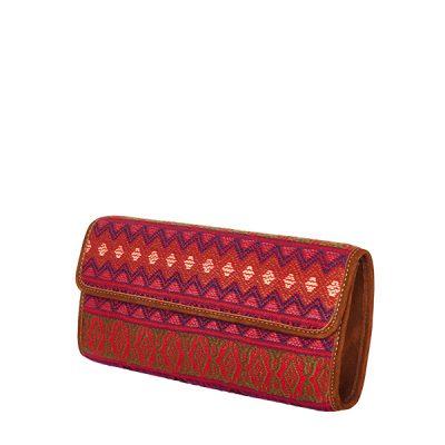 Clutch Clutchbag Bag Purse Handtasche red rot
