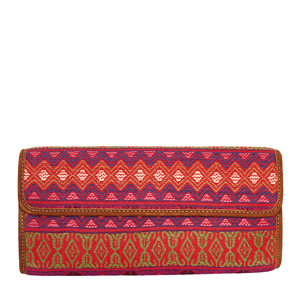Clutch Clutchbag Bag Purse Handtasche red rot