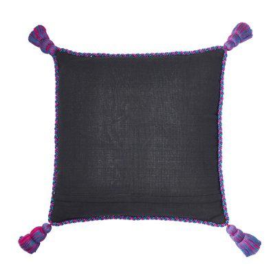 Pillow Pompones Pompoms Home Interior Kissen Kisenbezug Kissenbezüge