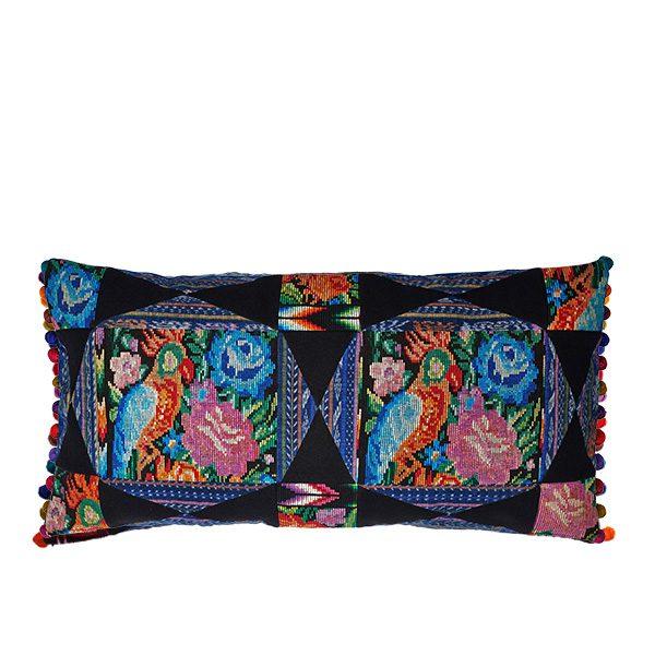 Pillow Pompones Pompoms Kissen Home Interior Deco Lifestyle