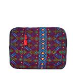 Boho Laptop Case   Blue Aztec   MARYSAL