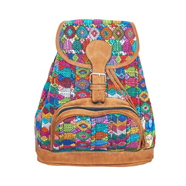Marysal_Backpack Huipil_colorful