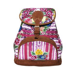 Marysal_Backpack Huipil_pink
