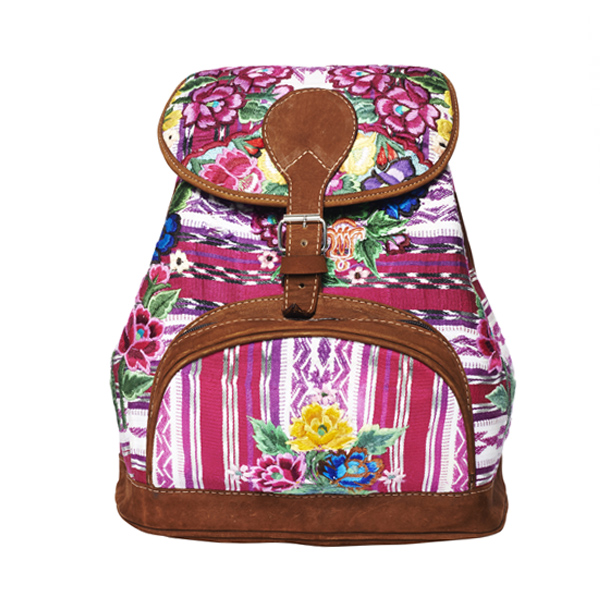 Gypsy Style Backpack |Pink Floral |MARYSAL