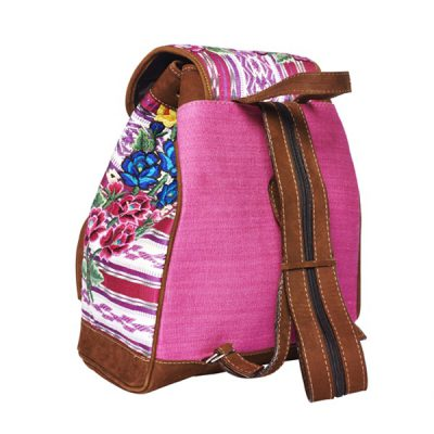 Gypsy Style Backpack | Pink Floral | MARYSAL