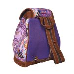 Gypsy Style Backpack | Purple Aztec Design | MARYSAL