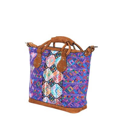 MARYSAL Weekender_small_lila blau side