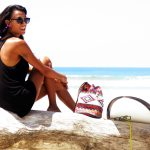 CROCHET BUCKET BAG | CROCHET BAG | BEACH BAG | SURFWEAR | pink | Ikat