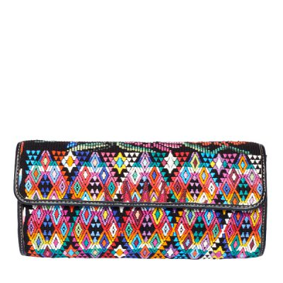 Boho Clutch Bag | Ikat | MARYSAL