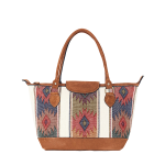 ETHNO SHOPPER SMALL | WHITE DIAMONDS