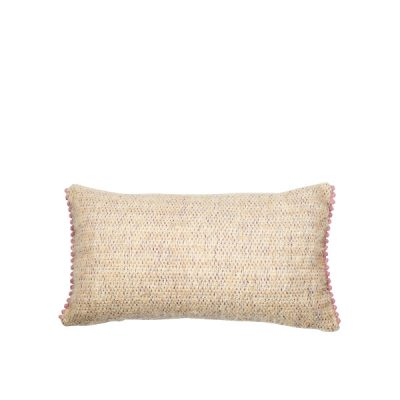 Marysal Soft Mohair Cuddle Pillow Pompoms