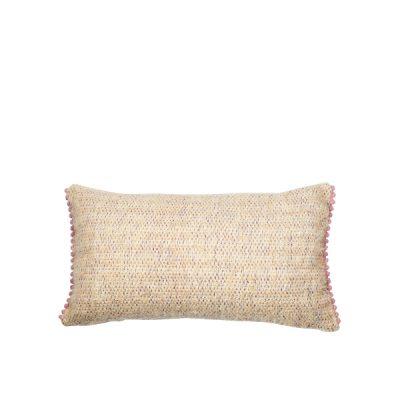 Marysal Soft Mohair Cuddle Pillow Pompoms