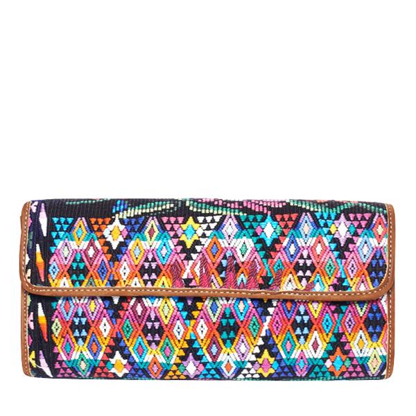 MARYSAL Boho Clutch Bag Aztec Ethno Style