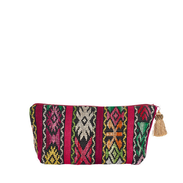 BOHO POUCH | RED