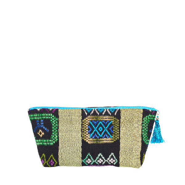 BOHO POUCH | TURQUOISE