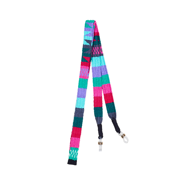 Sunglass straps pink and turquoise
